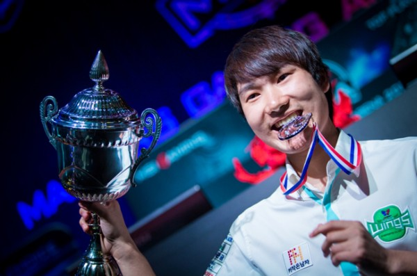 Starcraft player sOs was crowned the new champion of Starcraft II.