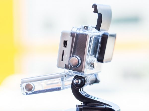 There's a SteadXP designed specifically for GoPro cameras, called the SteadXP@. <br> Image source: Kickstarter