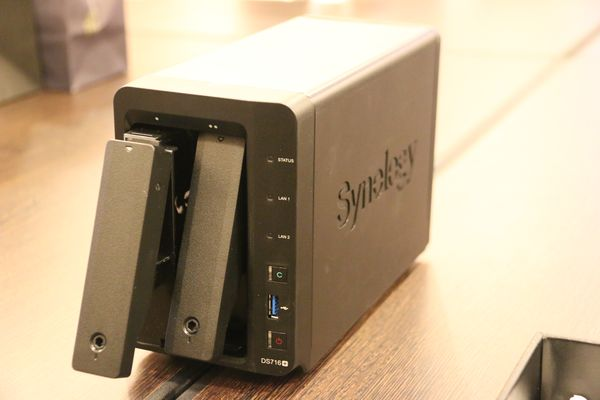Synology DS716+.