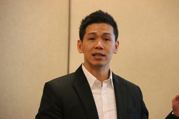 Mike Chen, Sales Director of Synology Inc.