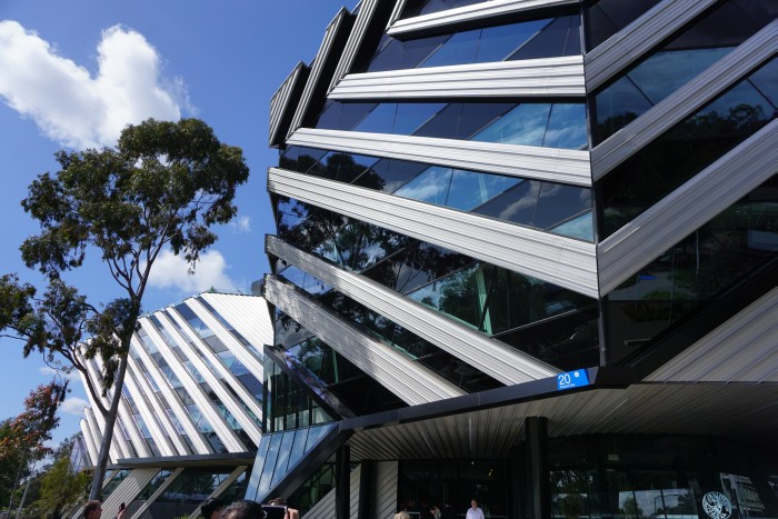 The facility which houses the CAVE2 supercomputer, located within the Clayton Campus of Monash University in Melbourne, Australia.