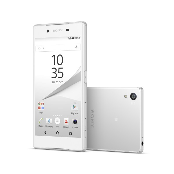 The Xperia Z5 is the flagship model of Sony's new Xperia Z5 line.