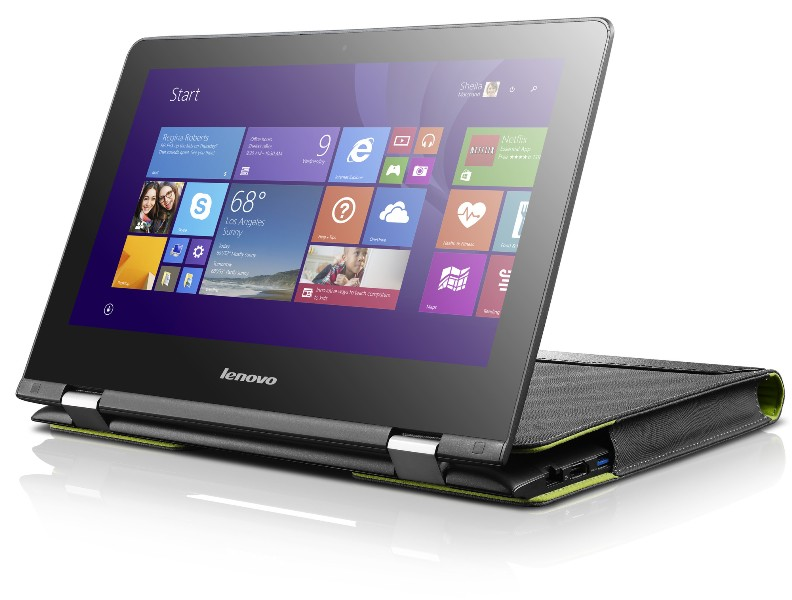 lenovo launches ultra flexible yoga 300 and yoga 500. Black Bedroom Furniture Sets. Home Design Ideas