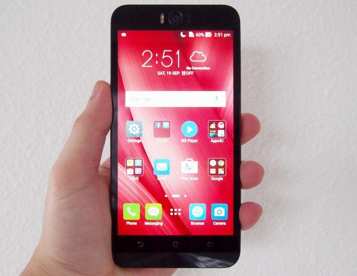 The ASUS ZenFone Selfie