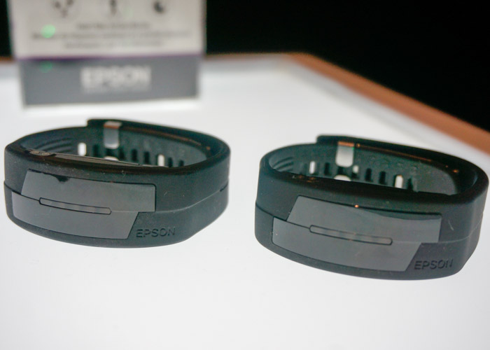 Pulsense Fitness Watch and Band are Epson's other entry into fitness wearables.