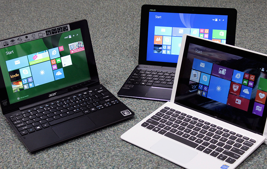 We have gathered three affordable 2-in-1 convertible notebook devices from Acer, ASUS and HP for this triple threat shootout.