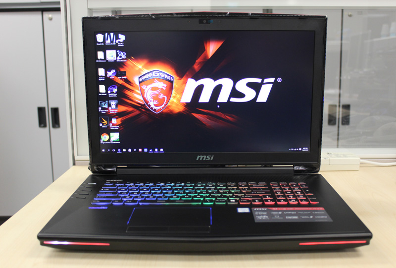 MSI has updated its 17-inch gaming notebooks with new Intel sixth generation Skylake processors. Here is the new GT72S 6QE Dominator Pro.