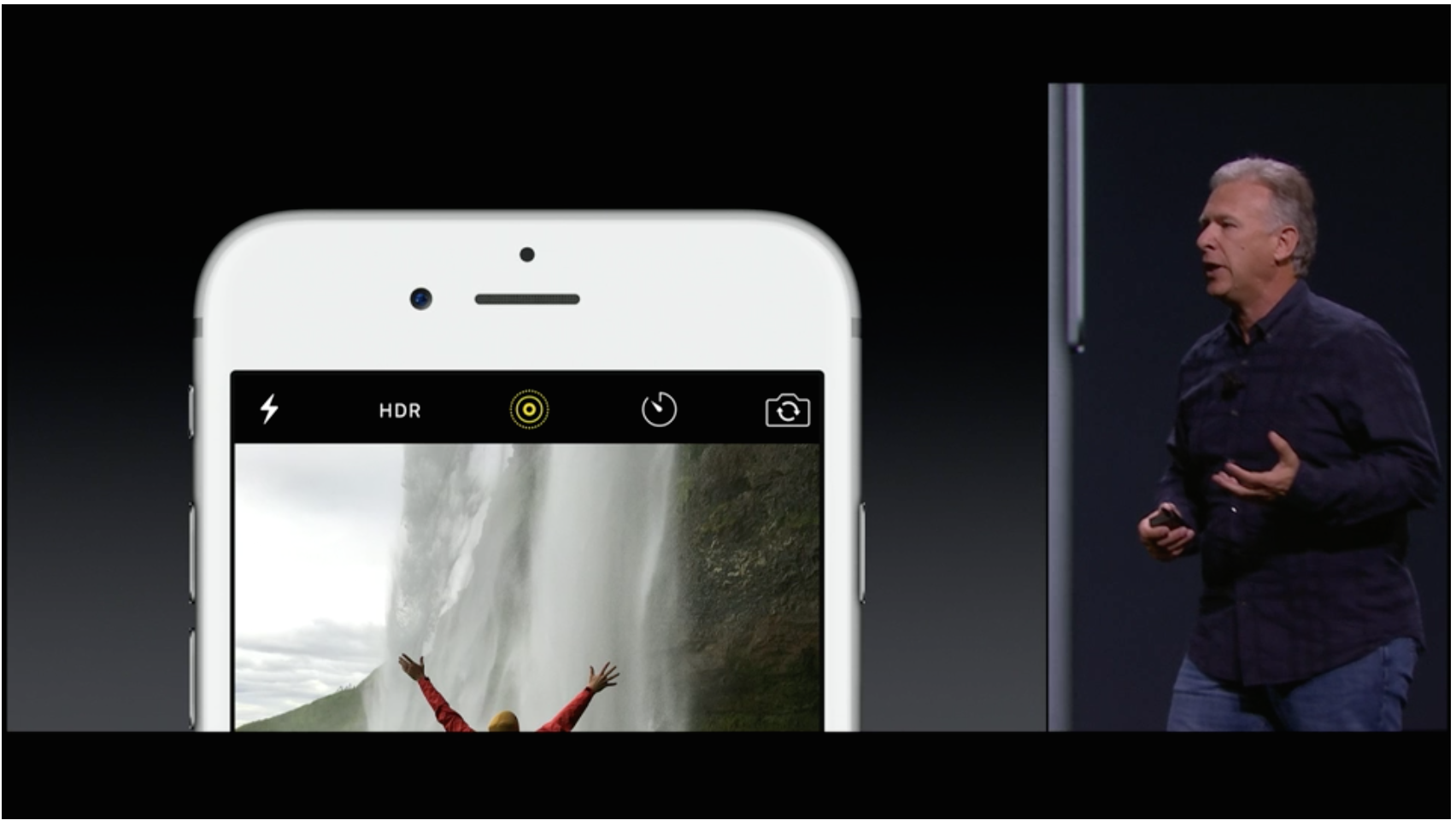 Live photo feature - taking 1.5 seconds of footage from before the shutter.