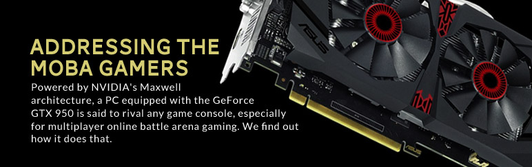 A closer look at the NVIDIA GeForce GTX 950