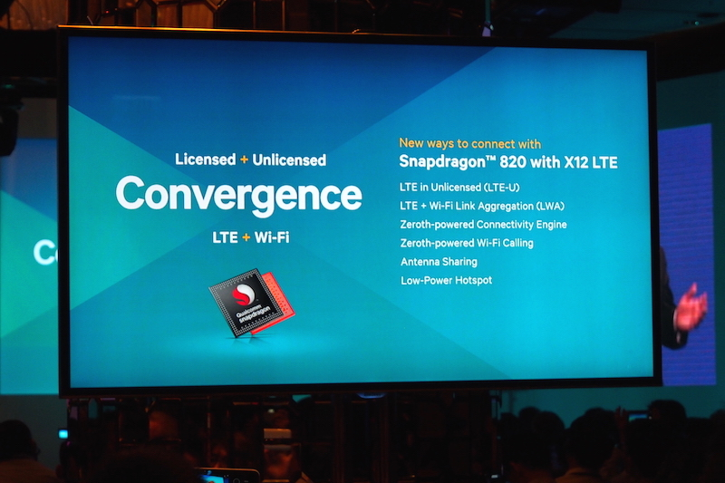 Snapdragon 820, with the new features that will come on board together with the new chip.