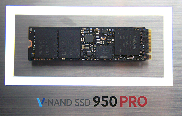 The new Samsung 950 Pro SSD.