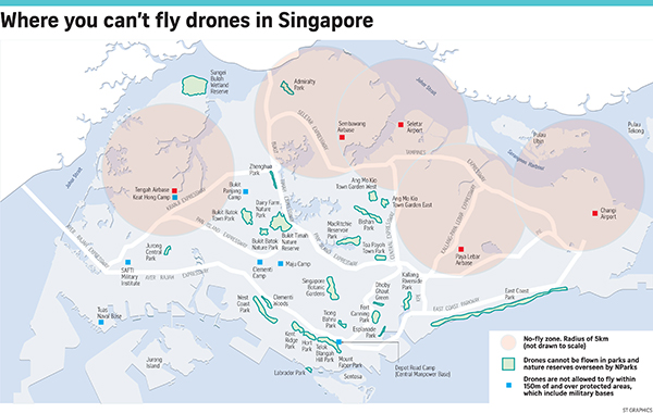 Droneflying Becoming Increasingly Popular With Local Hobbyists - No fly zone for drones map