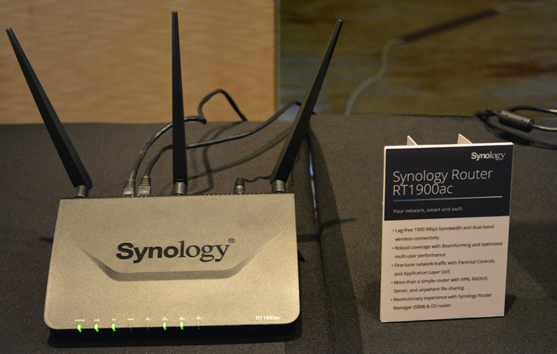 The Synology RT1900ac router is the company's first ever foray into the networking market.