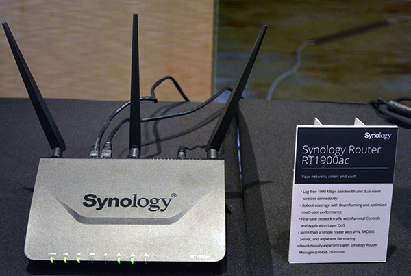 The new Synology RT1900ac router was probably designed with parents