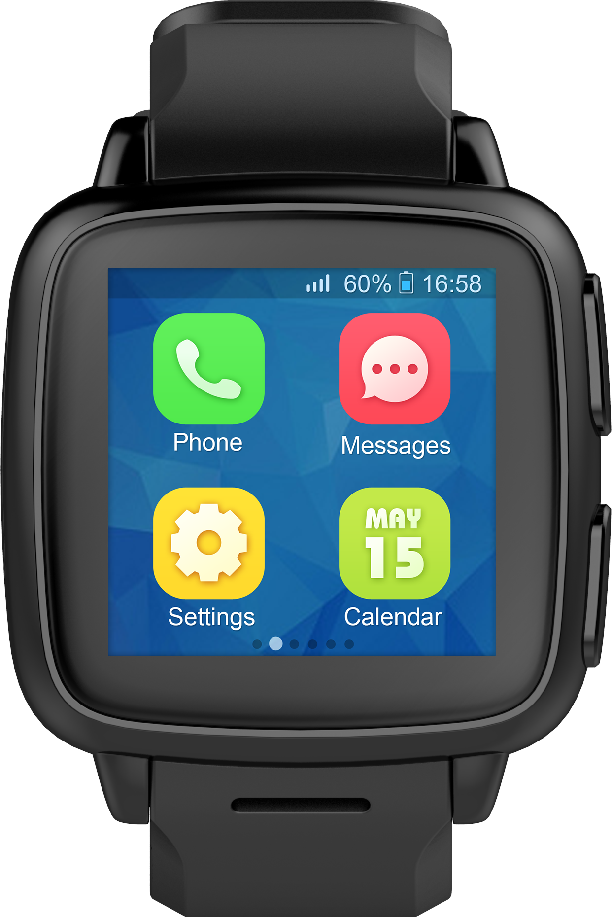 The Omate TrueSmart+ is an Android Lollipop standalone ...