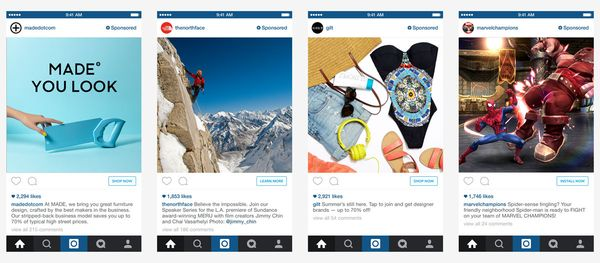 Here's how 30-second video ads will look like on Instagram. Image Source: Instagram,