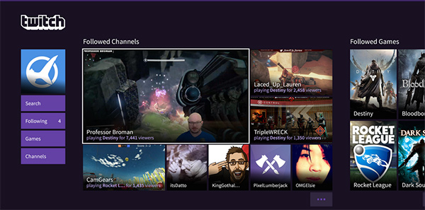 A full-featured Twitch app is coming to PlayStation devices this year. (Image Source: Twitch)