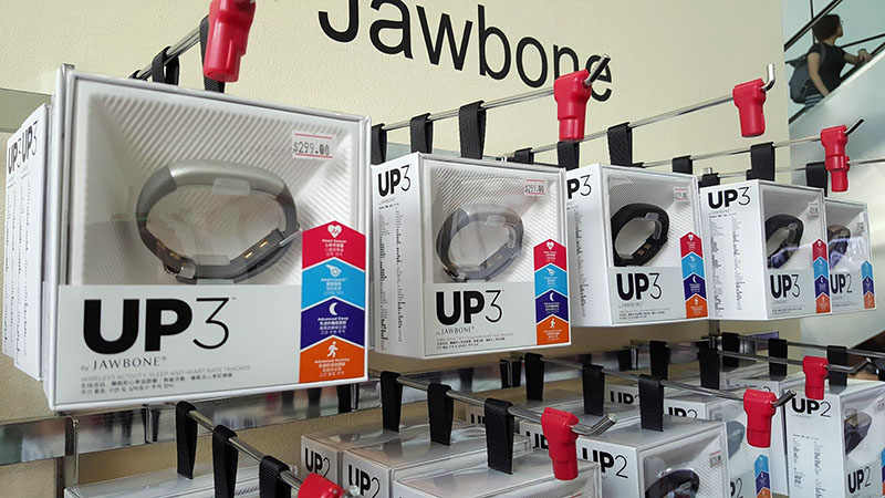 Jawbone's Up3 is an activity tracker that can also track your sleep and heart-rate. Its usual price is S$309, but at Comex it's going at S$299.