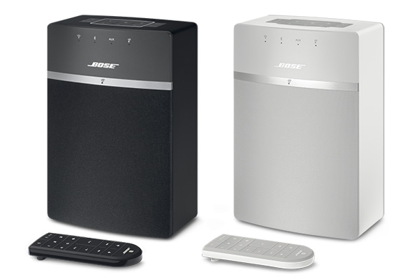 The SoundTouch 10 comes in black and white options.