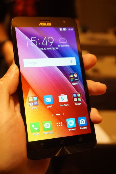 Behold, the ASUS ZenFone 2 Laser ZE550KL, the 5.5-inch variation of the lineup.