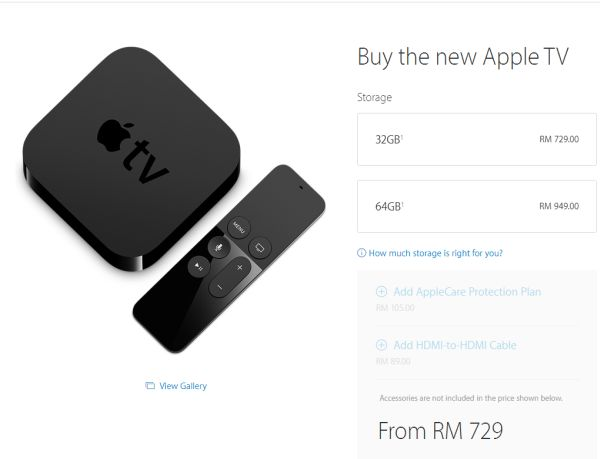 You Can Now Buy The New Apple TV In Malaysia