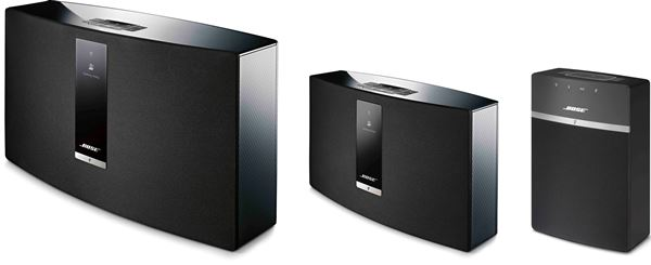 From right to left: SoundTouch 30 III, SoundTouch 20 III, and SoundTouch 10.