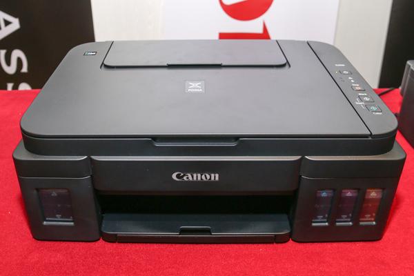 The mid-range, multifunction PIXMA G2000 inkjet printer.