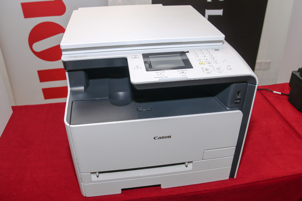 The imageCLASS MF621Cn Color Multi-Function laser printer.