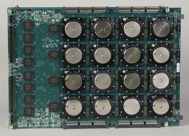 It may not look like much, but this is TrueNorth, IBM's brain-inspired computer. (Image Source: Berkeley Lab)