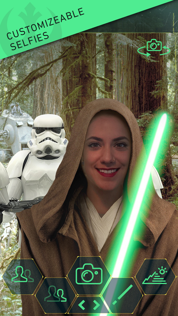 Should you have your photo taken as a Jedi or Sith? Why not both?