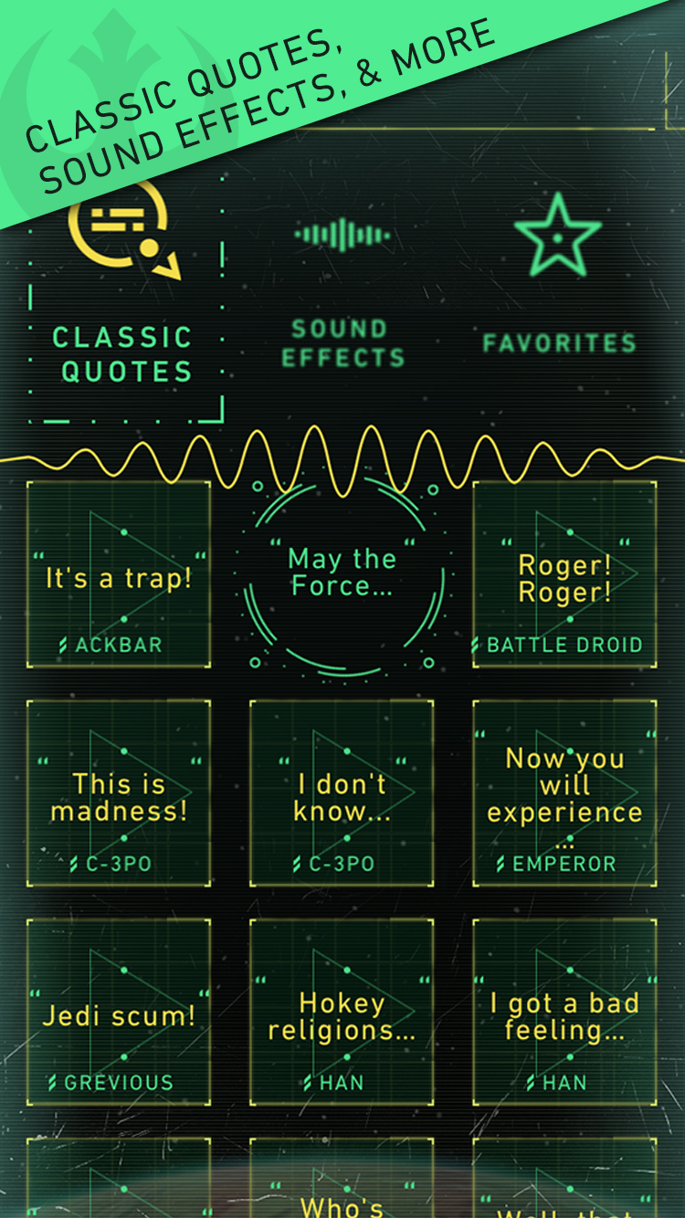 Trivia, videos, news - this app is basically all-encompassing when it comes to an in-depth experience with the Force.