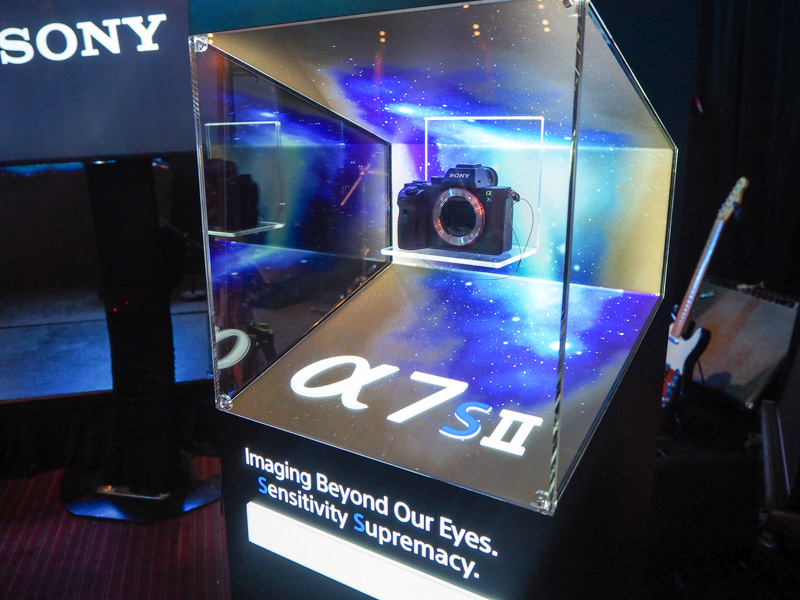 Sony A7S II, here at last to complete the trinity of second-gen A7 full-frame mirrorless shooters.