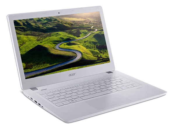 The Aspire V 13's the only machine that will have a USB 3.1 Type-C port.