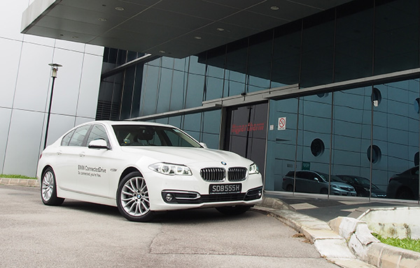 My ride for 72 hours. A BMW 528i Gran Turismo Luxury.