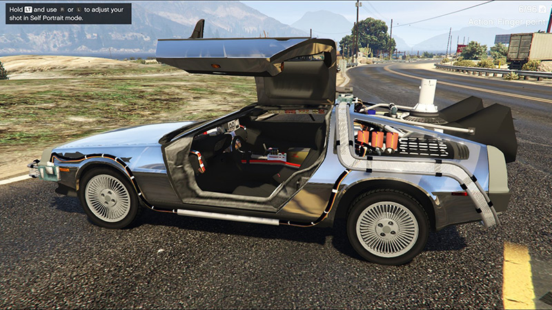9 delorean time machines you can actually own. Black Bedroom Furniture Sets. Home Design Ideas