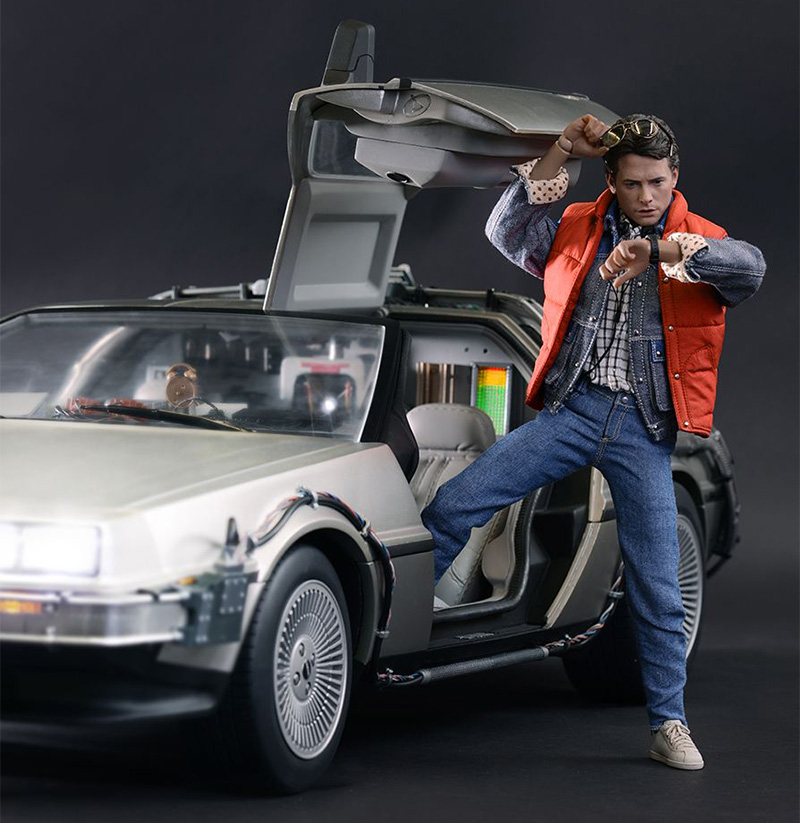 Delorean Time Machine Time Travel