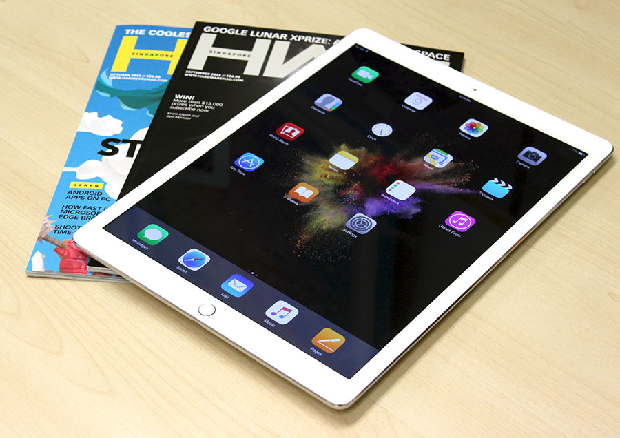 The iPad Pro is more than the sum of its parts, and offers users who love the iOS ecosystem a bigger device to enjoy their apps. For example, you can enjoy the digital edition of our HWM tablet at almost the same size of the physical copy, giving you a near magazine-like reading experience.