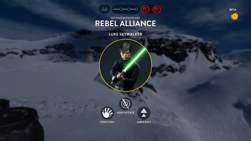 Every time you hear the Imperial March or the Star Wars main theme play, you'll know that a Hero unit is in play.