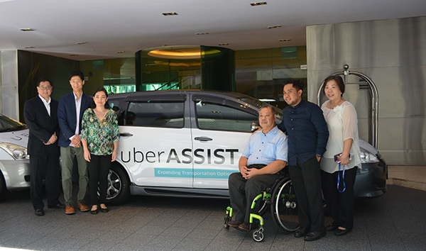 UberASSIST is now available in Singapore.