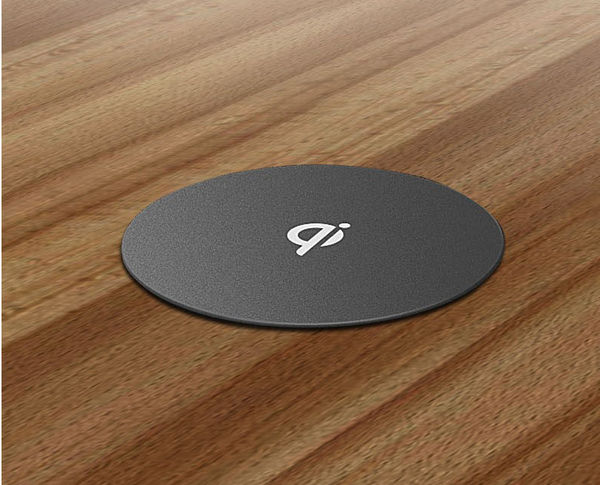 Zens Qi Add On Turns Your Desk Into A Wireless Charger