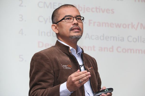 Dr. Aswami Fadillah Bin Mohd Ariffin, Vice President, Cyber Security Responsive Services Division, CyberSecurity Malaysia