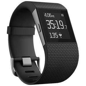 Fitbit Surge Fitness Watch (Black / Blue / Tangerine)