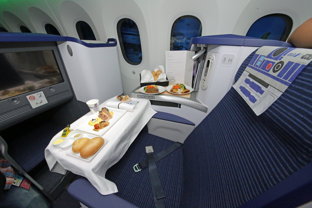 Business class folks will get the same treatment too. Image credit: superadrianme.com