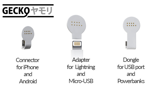 There's a Gecko adapter for every device.