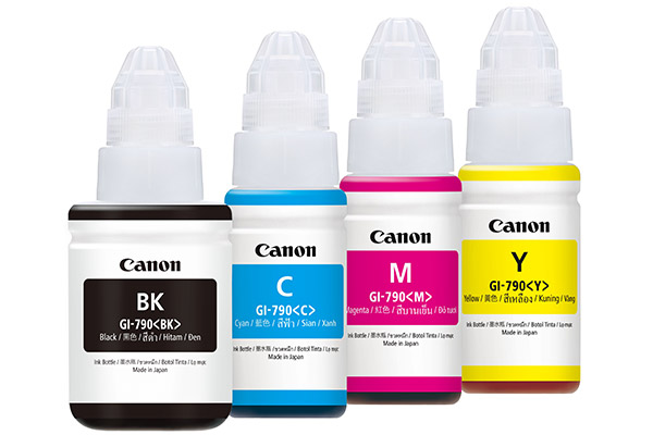 The Pixma Ink Efficient G1000 G2000 And G3000 Are Canon S First Ink