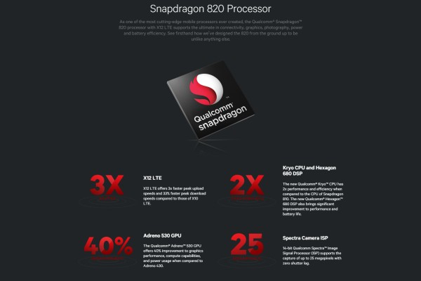 Qualcomm's new Snapdragon 820 has been made official. <br> Image source: Qualcomm.