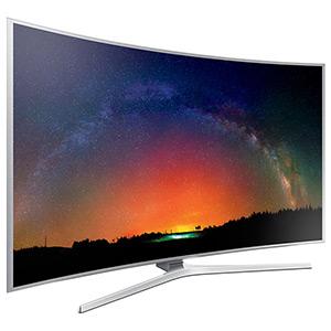 Samsung JS9000 SUHD 4K Curved Smart TV.