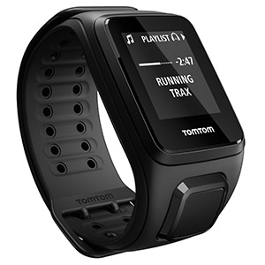 TomTom Spark Cardio + Music GPS Fitness Watch (with Bluetooth Headphones)