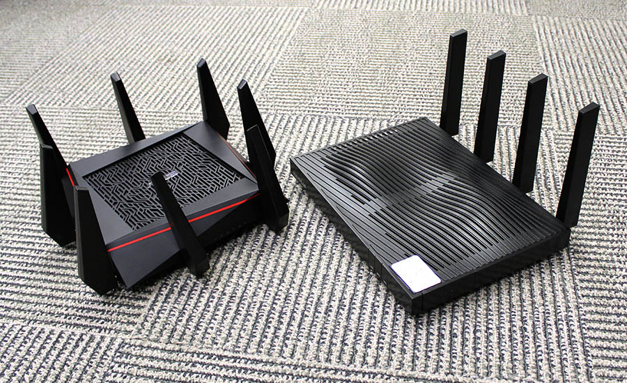 The ASUS RT-5300 and Netgear Nighthawk X8 are the latest and most extreme tri-band routers to hit the shelves.