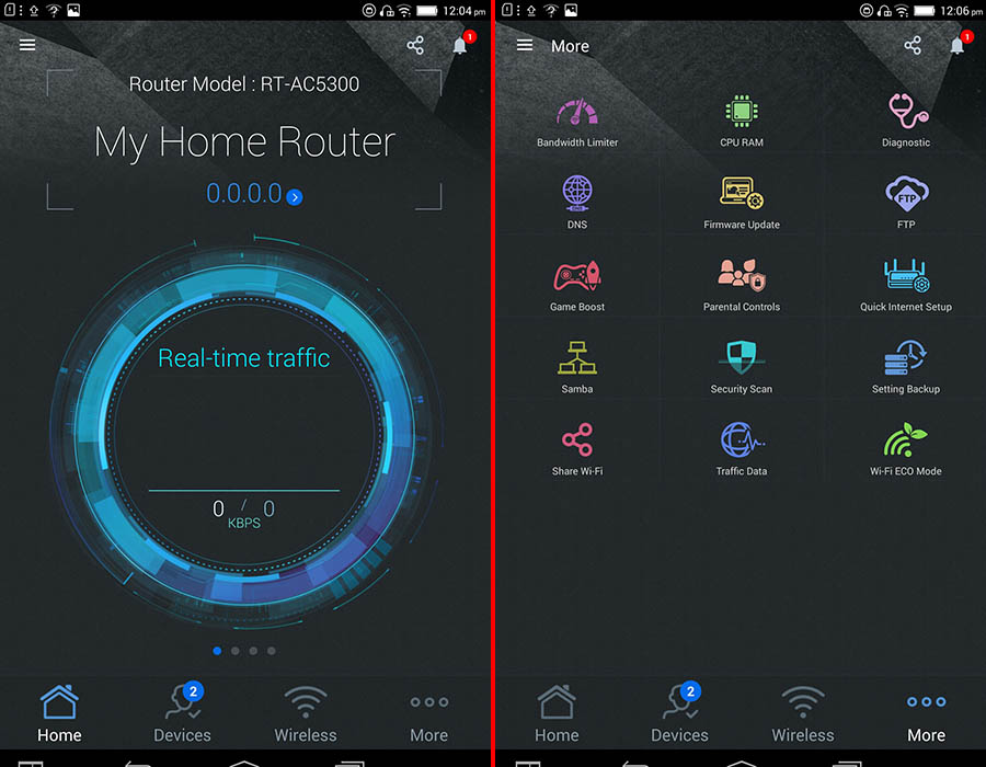 The ASUS Router app lets you remotely manage and control your router - a feature that was sorely missing from ASUS routers.